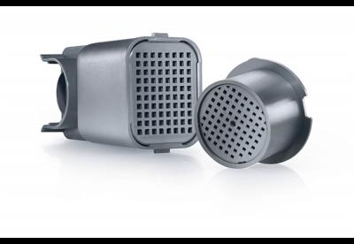 <strong>FreshAir koolfilter (2 stuks).</strong> Het in de ventilator geïntegreerde FreshAir koolfilter zuivert de circulerende lucht en neutraliseert onaangename geuren.